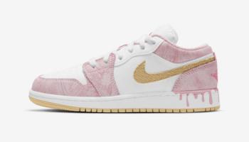 Nike-Air-Jordan-1-Low-GS-Paint-Drip-CW7104-601-9