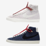 "ナイキ ブレーザー ミッド 77 ""刺し子"" 全2色 Nike Blazer-Mid-77-Vintage-Sashiko-2-Colors-Barely-Rose-Blue-DD5402-078-DD5486-492-eyecatch"