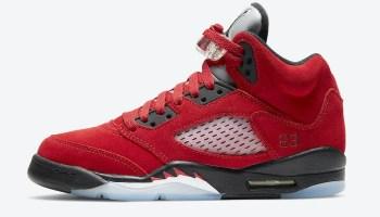 "Nike Air Jordan 5 ""Raging Bull"" / ナイキ エア ジョーダン 5 ""レイジング ブル"" DD0587-600 side"