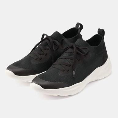 GU ジーユー ニット スニーカー ブラック Knit-Sneakers-Black 黒