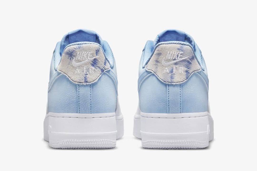 """ナイキ エア フォース 1 ロー """"サイキック ブルー"""" Nike-Air-Force-1-Low-Psychic-Blue-CZ0337-400-heel"""