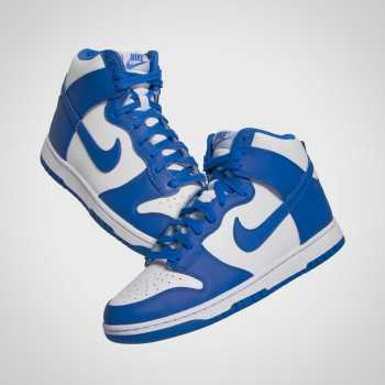 """ナイキ ダンク ハイ """"ゲーム ロイヤル"""" Nike-Dunk-High-Game-Royal-DC9265-101-pair main"""