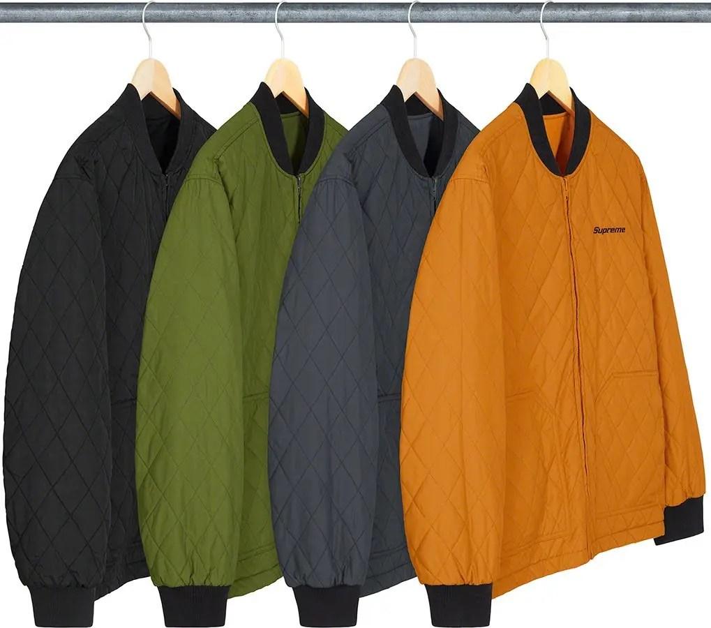 シュプリーム 2021年 春夏 新作 ジャケット Supreme 2021ss jacket 一覧 reversible-tech-work-jacket-out