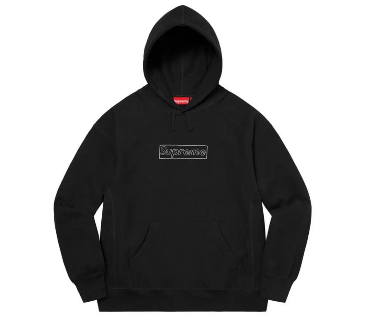 KAWS Chalk Logo Hooded Sweatshirt シュプリーム 2021年 春夏 新作 Supreme-2021ss-week-1
