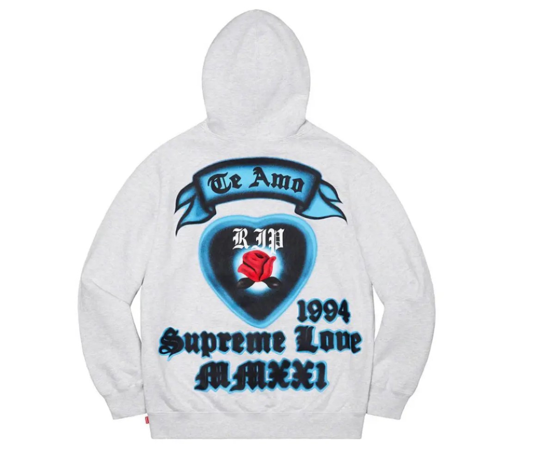 Supreme Love Hooded Sweatshirt シュプリーム 2021年 春夏 新作 Supreme-2021ss-week-1