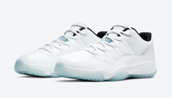 "Nike Air Jordan 11 Low ""Legend Blue"" White/White-Black-Legend Blue AV2187-117 main"