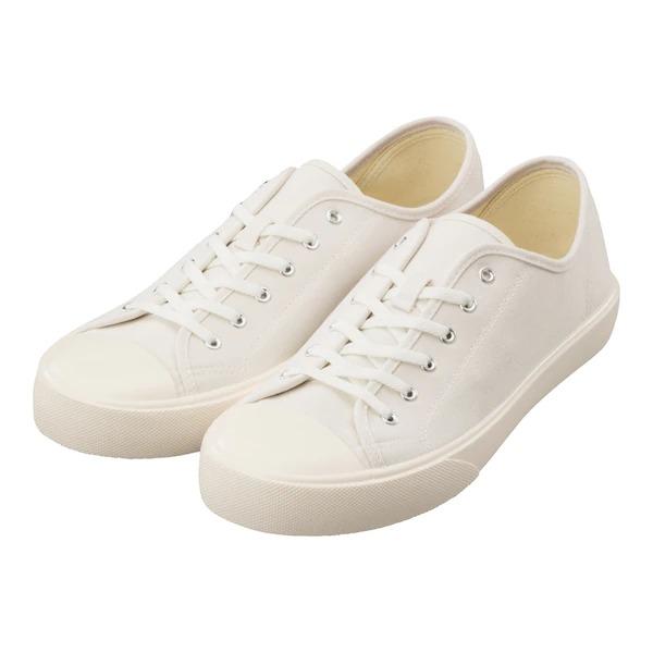 GU クリーンキャンバススニーカー ホワイト GU Canvas Clean Sneakers White