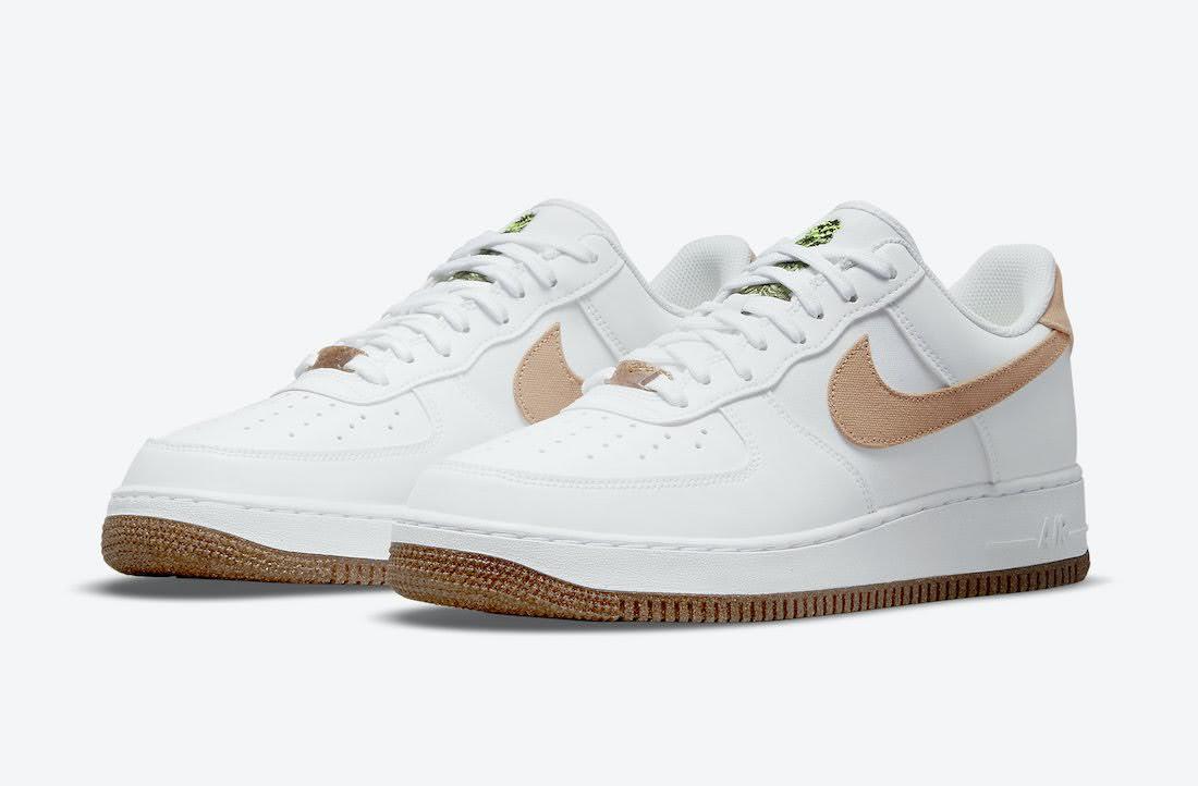 """ナイキ エア フォース 1 """"ルバーブ"""" Nike-Air-Force-1-Low-Rhubarb-CZ0338-101-pair"""