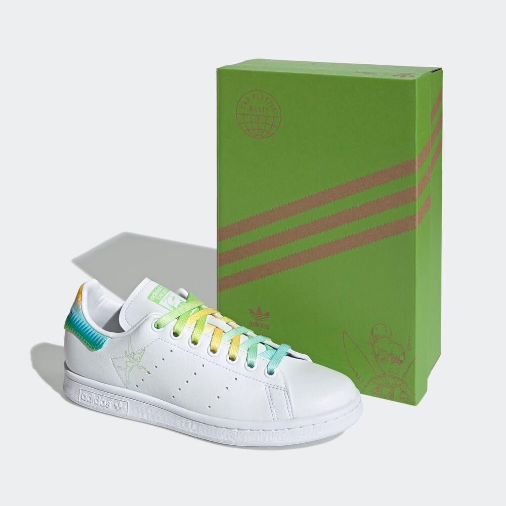 アディダス スタンスミス × ティンカーベル adidas-tinkerbell-stan-smith-FZ2714-side-box