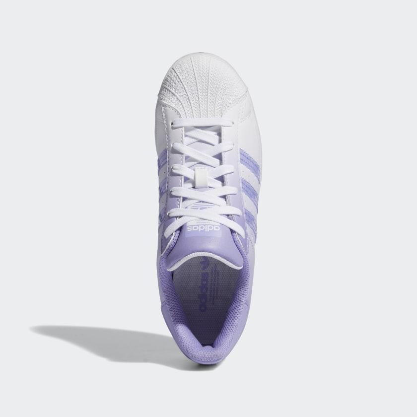 """アディダス ウィメンズ オリジナルス スーパースター """"ライト パープル"""" adidas_Superstar_wmns_light-purple_GW2936-top"""