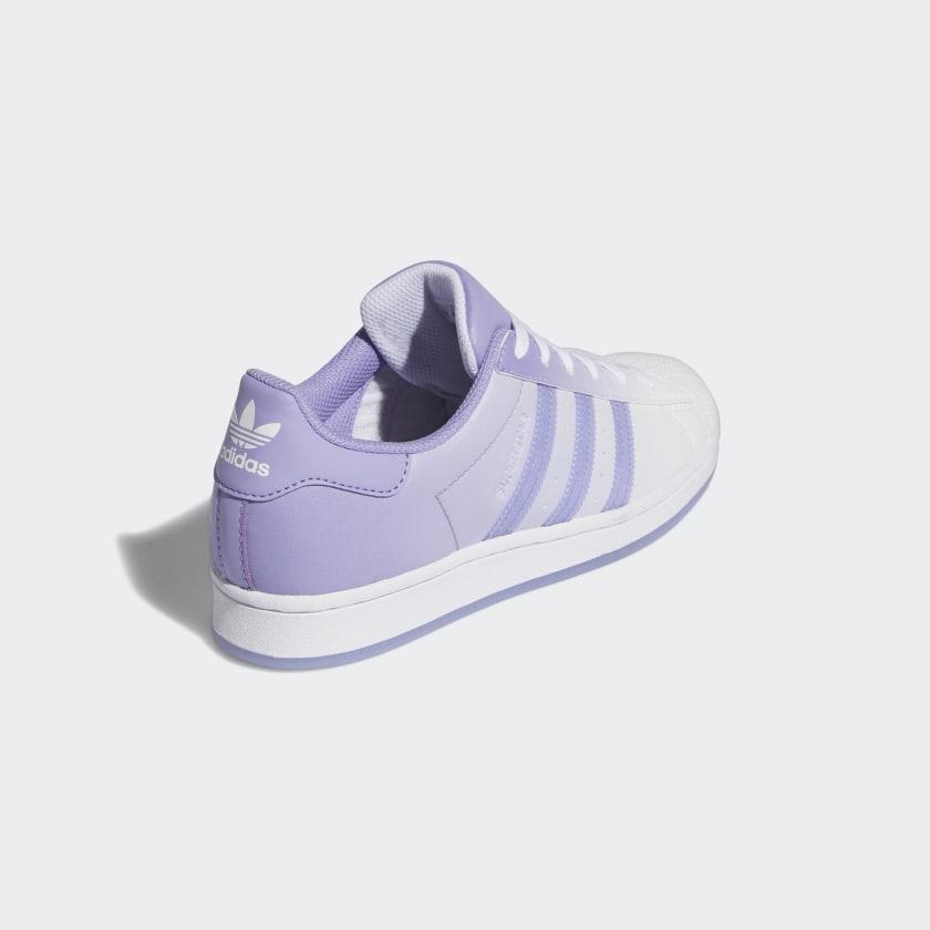 """アディダス ウィメンズ オリジナルス スーパースター """"ライト パープル"""" adidas_Superstar_wmns_light-purple_GW2936-back"""
