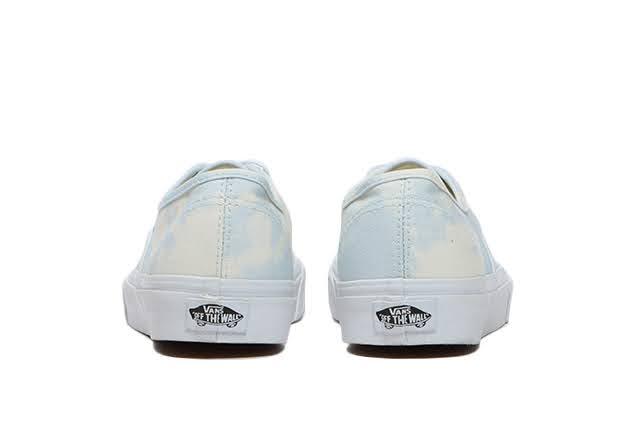 """ヴァンズ """"ブリーチ ウォッシュ パック"""" オーセンティック vans-bleach-wash-pack-authentic-vn0a348a3xo-heel"""