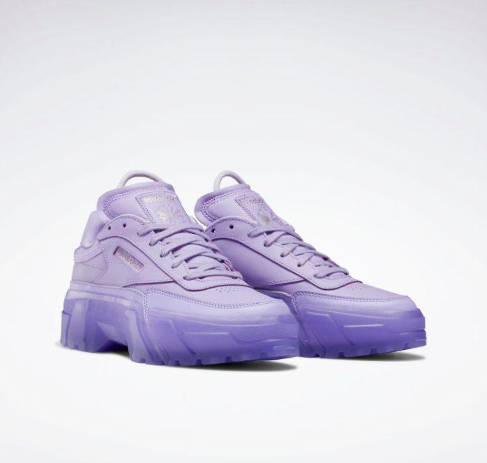 """リーボック × カーディビー """"クラブ シー カーディ"""" / クリスプパープル Reebok-Cardi-B-Club-C-Cardi-Crisp-purple-GX7632-pair"""