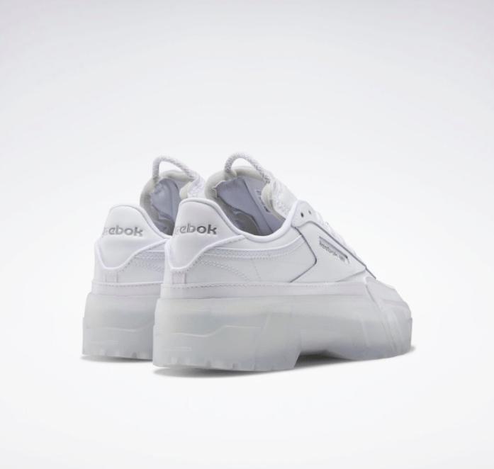 """リーボック × カーディビー """"クラブ シー カーディ"""" / フットウェア ホワイト Reebok-Cardi-B-Club-C-Cardi-Footwear-White-GX0038-pair-back"""