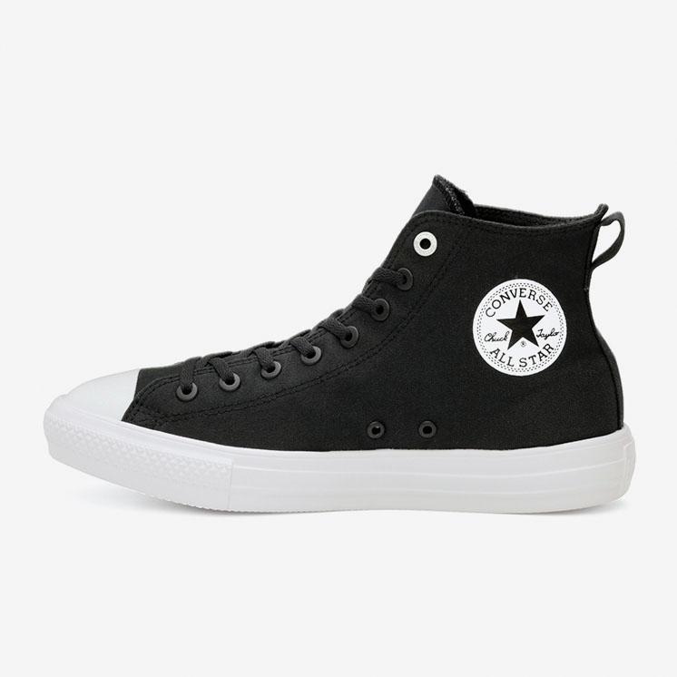 コンバース オールスター ライト ストレッチキャンバス HI/ ブラック converse-all-star-loght-stretchcanvas-hi-black-31304061-side