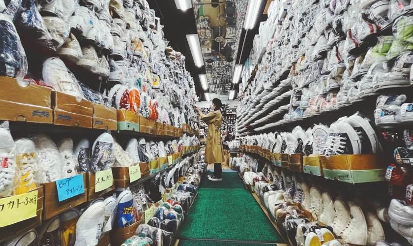 柿本商店の店内写真