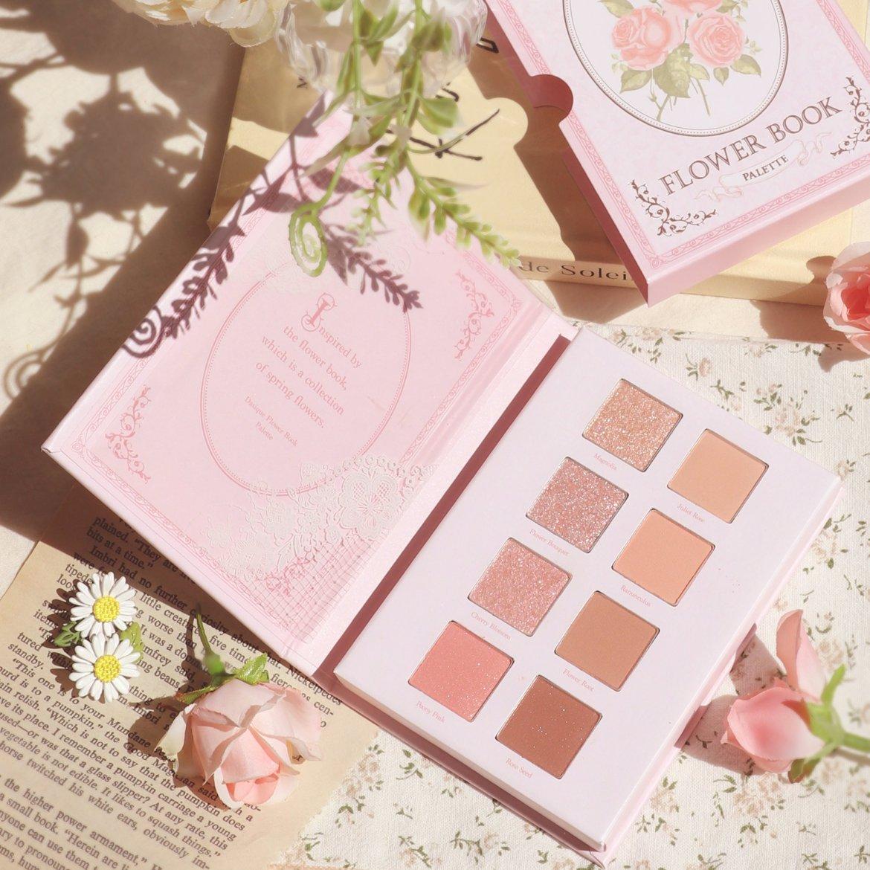 #08 flower book(フラワーブック)korean-cosmetic-dasique-eyeshadow-flower-book