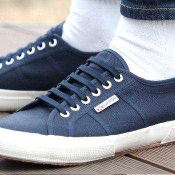 SPERGA「2750 COTU CLASSIC 」ladys-blue-sneakers-styles-superga