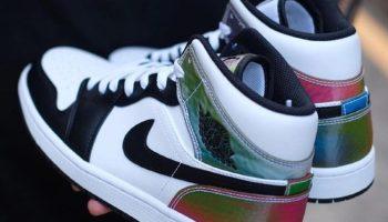 """ナイキ エア ジョーダン 1 ミッド """"ヒート リアクティブ"""" Nike-Air-Jordan-1-Mid-DM7802-100-eyecatch"""