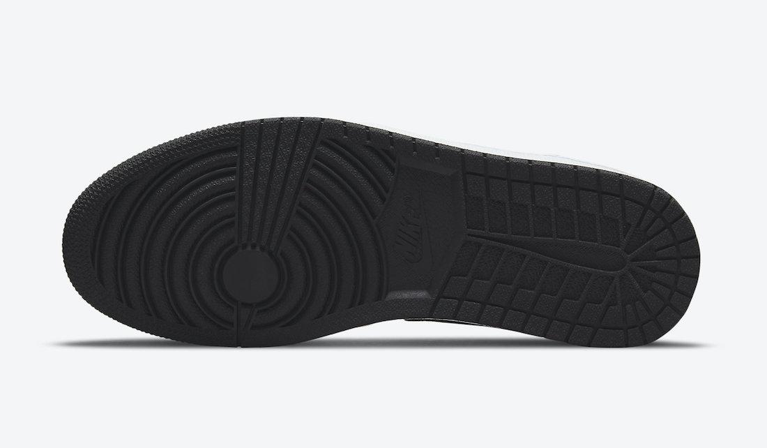 """ナイキ エア ジョーダン 1 ミッド """"ヒート リアクティブ"""" Nike-Air-Jordan-1-Mid-DM7802-100-sole"""