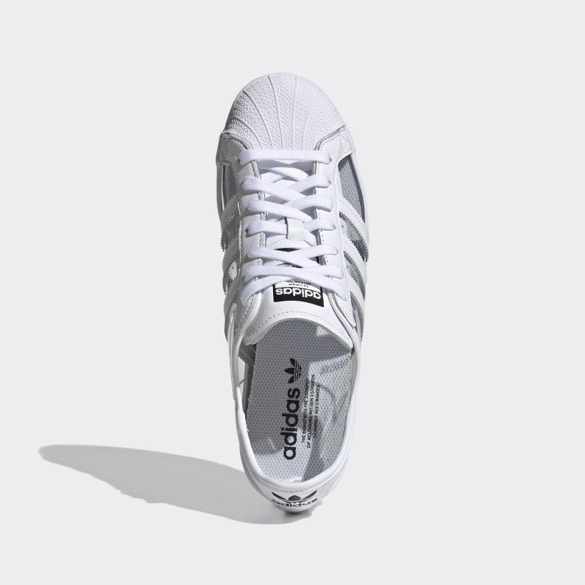 """アディダス オリジナルス スーパースター """"クリアホワイト"""" adidas_Superstar_ClearWhite_FZ0245_top"""