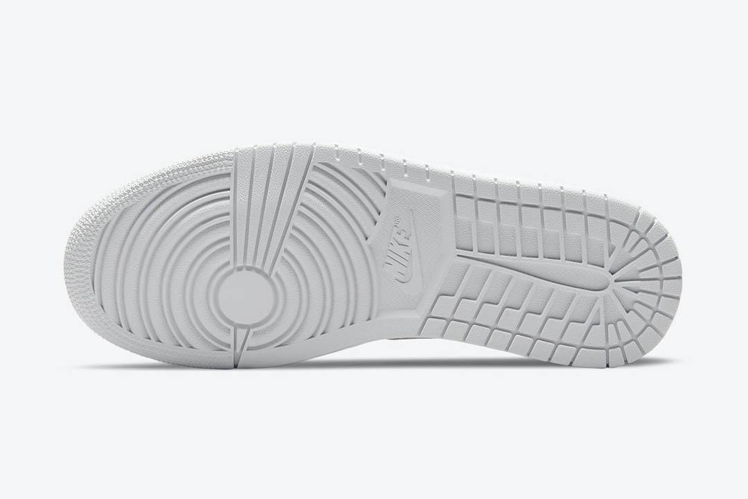 """ナイキ ウィメンズ エア ジョーダン 1 レトロ ロー OG """"ニュートラル グレー"""" Nike-Air-Jordan-1-Low-OG-Neutral-Grey-CZ0775-100-sole"""
