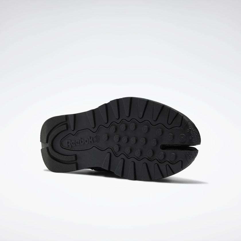 リーボック × メゾン マルジェラ クラシック レザー タビ ハイ (ブラック) Reebok_Maison_Margiela_Classic_Leather_Tabi_High_Black_GX5041_sole