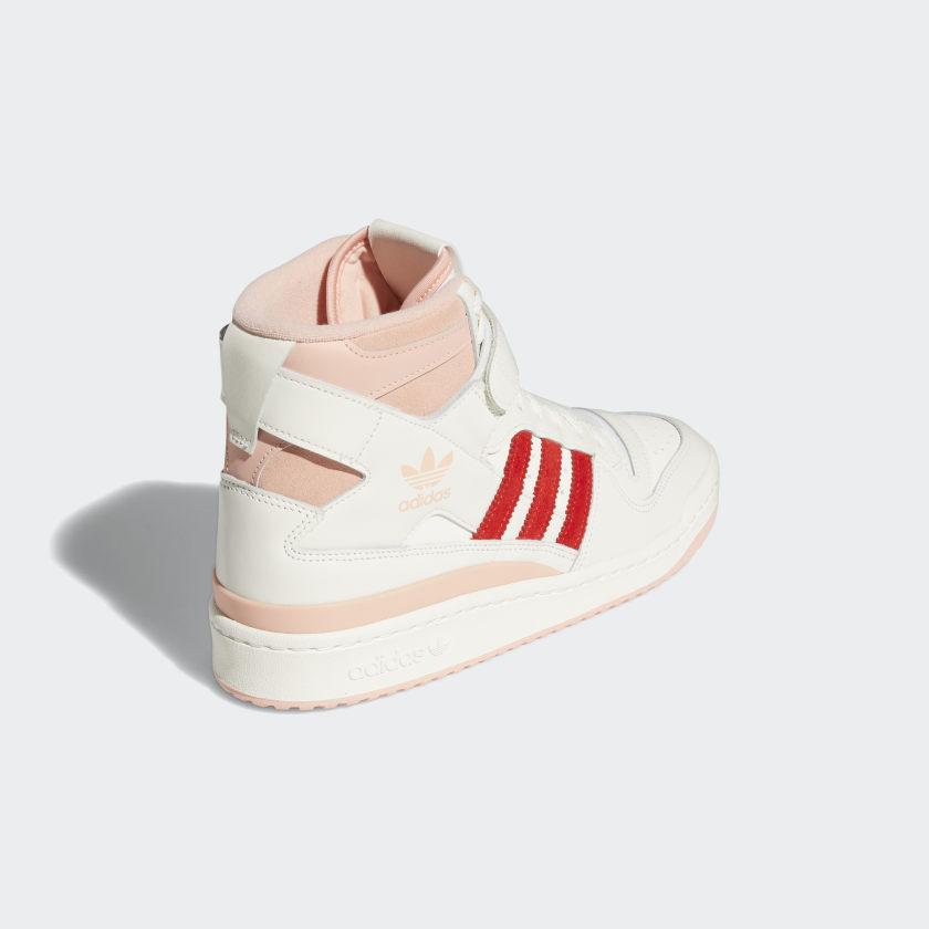 アディダス フォーラム 84 ハイ / ピンク グロー & ビビッド レッド adidas_Forum_84_Hi_pink_red_H01670_back