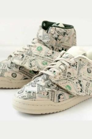 """2021年8月予定【Jeremy Scott x adidas Forum Wings 1.0 """"Money""""】ジェレミースコットコラボ最新作!"""