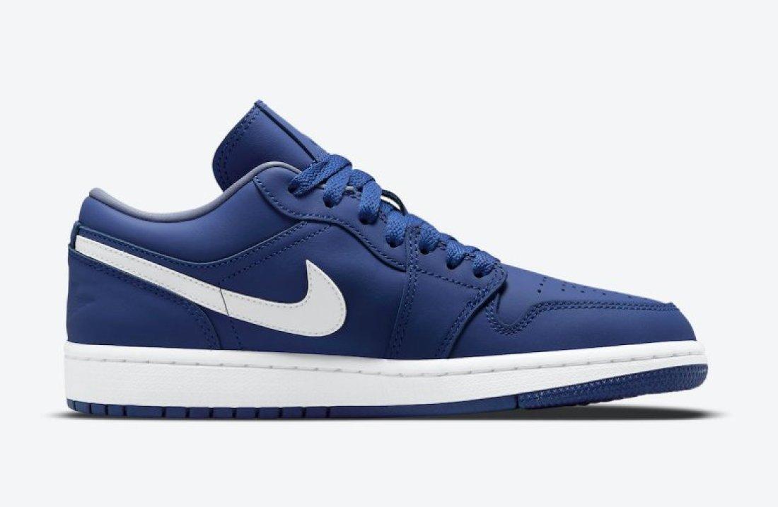 """ナイキ ウィメンズ エア ジョーダン 1 ロー """"ディープ ロイヤル"""" Nike-WMNS-Air-Jordan-1-Low-Deep-Royal-DA8008-401-side-2"""