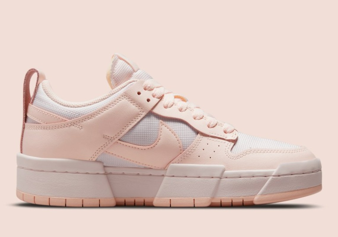 """ナイキ ウィメンズダンク ロー ディスラプト """"ベアリー ローズ"""" Nike-WMNS-Dunk-Low-Disrupt-Barely-rose-CK6654-602-side-2"""