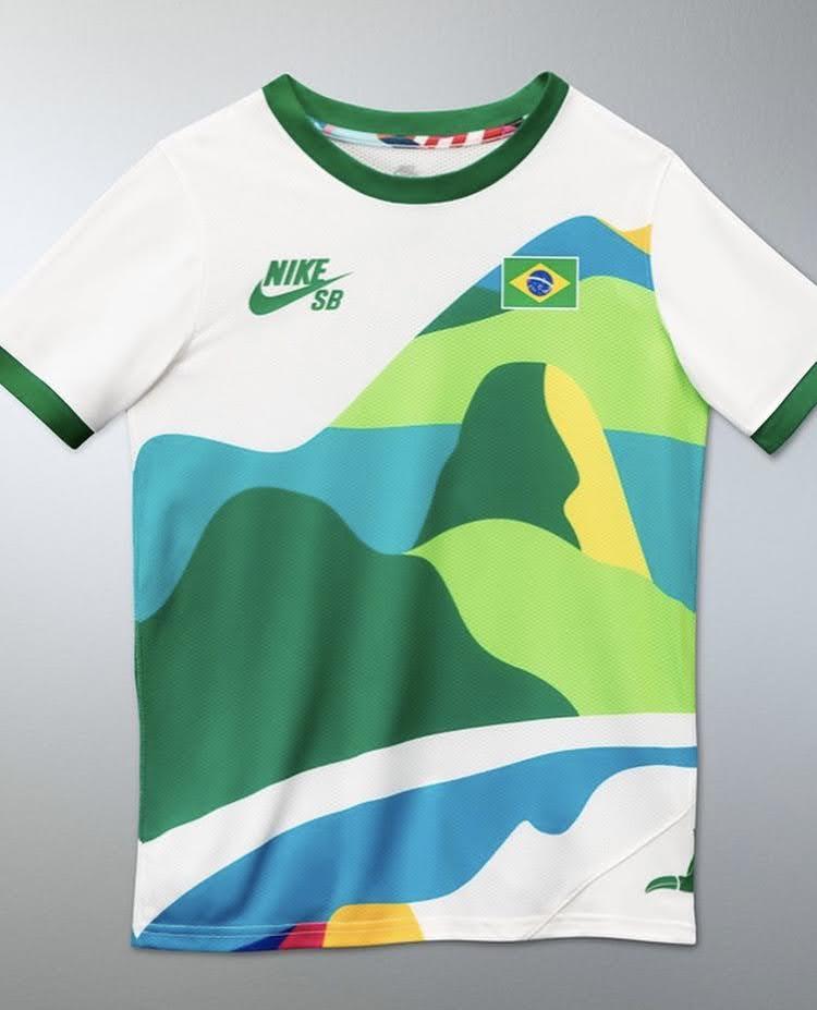 ナイキ SB パラ オリンピック エクスクルーシブ Tシャツ nike-sb-parra-olympic-exclusive-tee-2021-brazil-2
