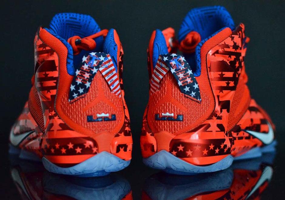 Nike LeBron 12 USA Independence Day- Sneaker Bar Detroit