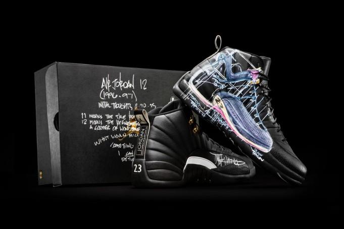 Air Jordan 12 Doernbecher Auction