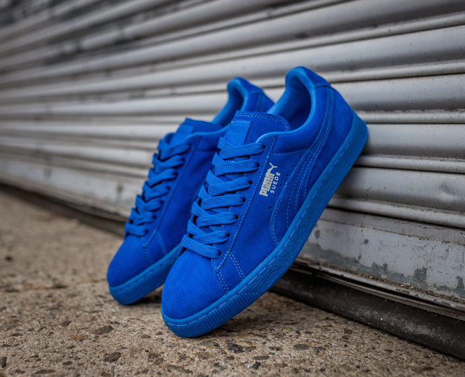 PUMA Suede Classic ICED Royal Blue Sneaker Bar Detroit