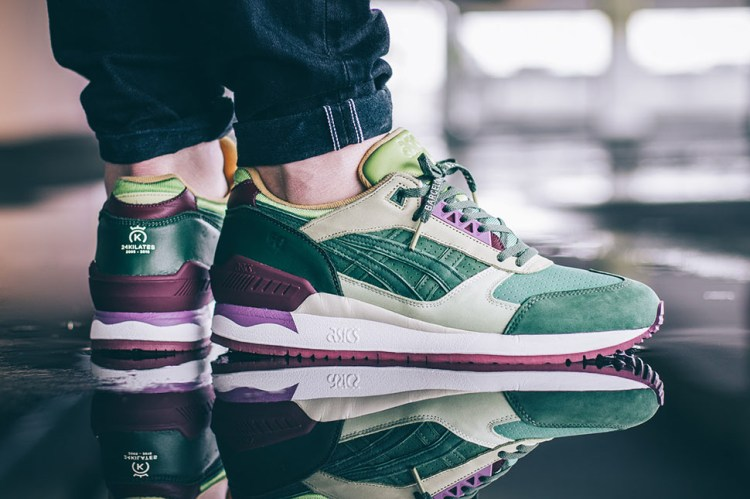 24 Kilates ASICS Gel Respector Extra Virgin