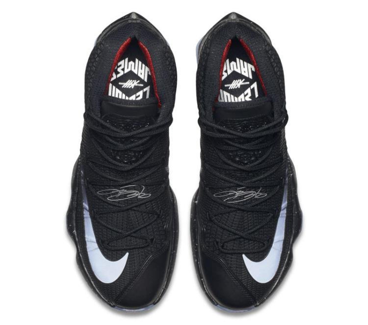Black Nike LeBron 13 Elite