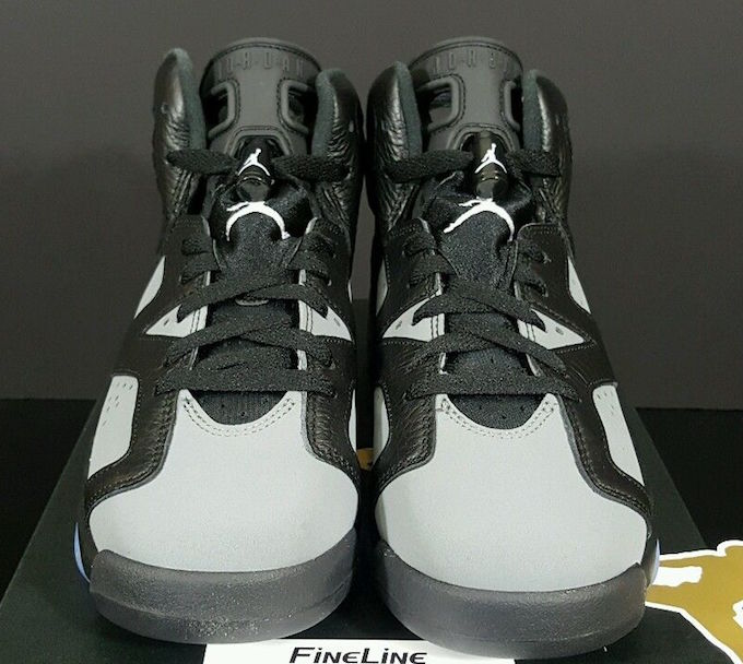Air Jordan 6 GS Black Cool Grey White