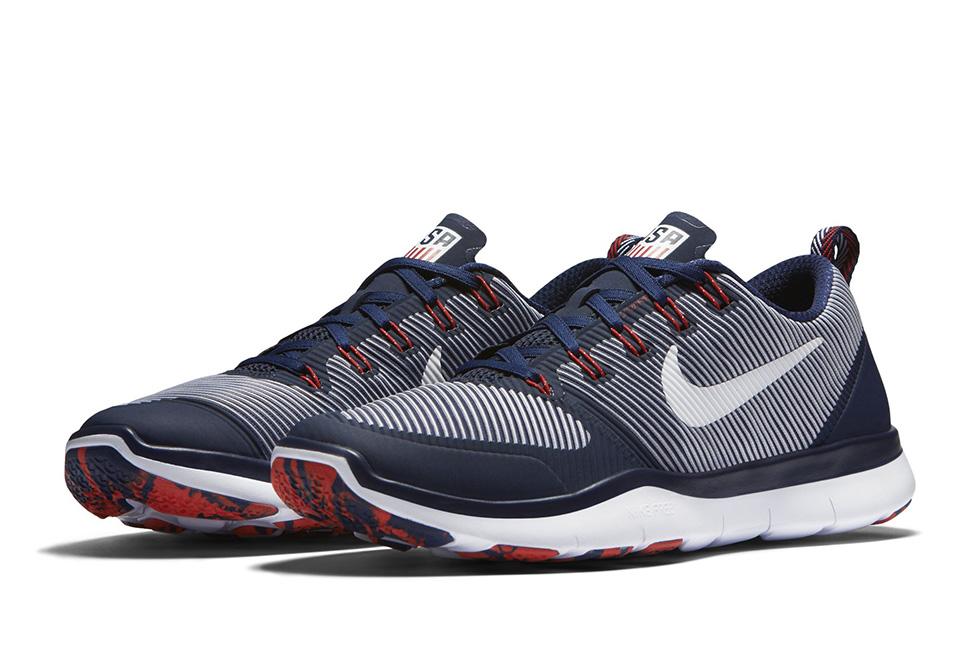 Nike Free Train Versatility USA Sneaker Bar Detroit