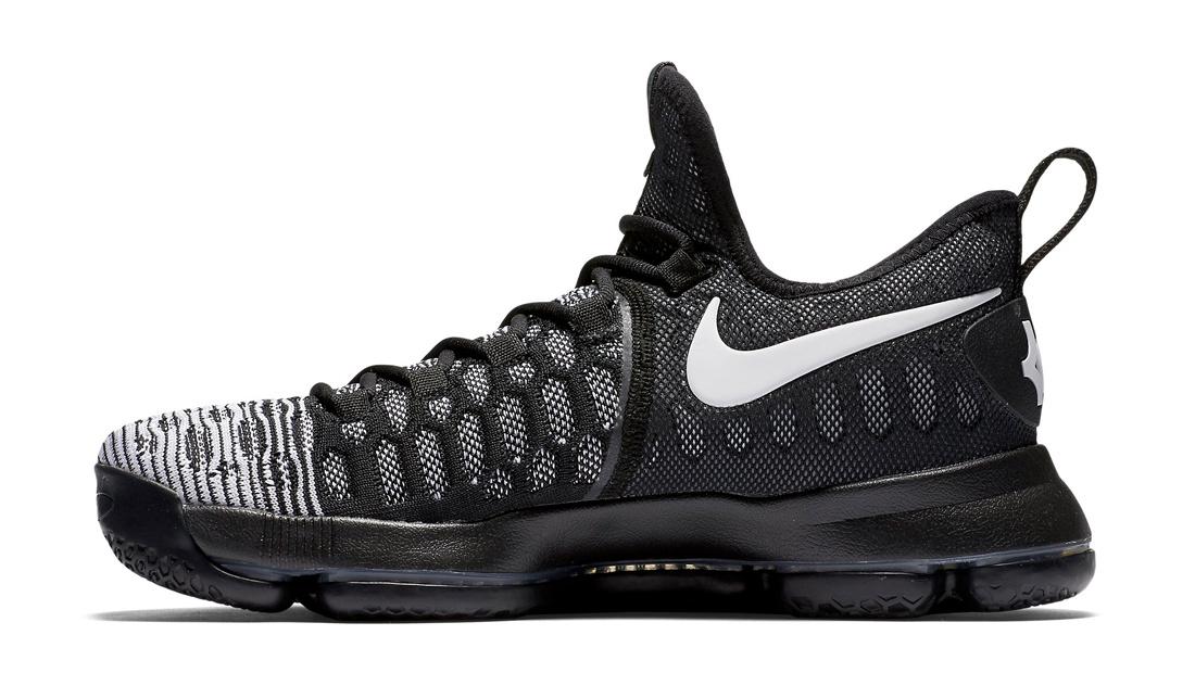 Nike KD 9 Mic Drop Black White Release Date