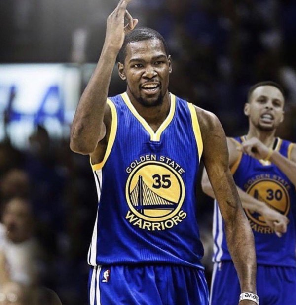 Kevin Durant Golden State Warriors - Sneaker Bar Detroit