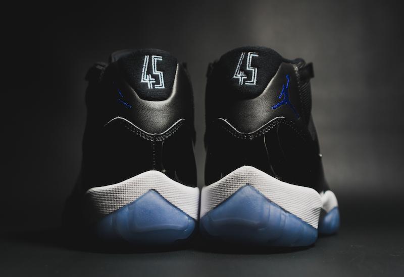 Space Jam Air Jordan 11 Retro 45 Heel