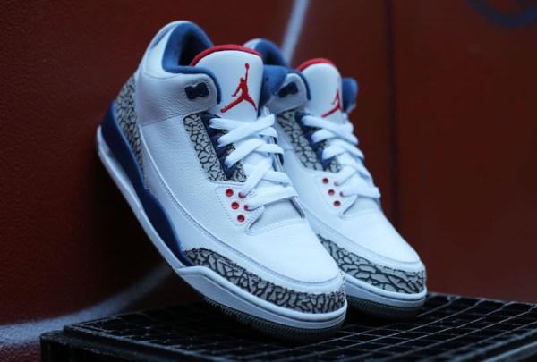 Air Jordan 3 OG True Blue 2016 Release Date - Sneaker Bar ...