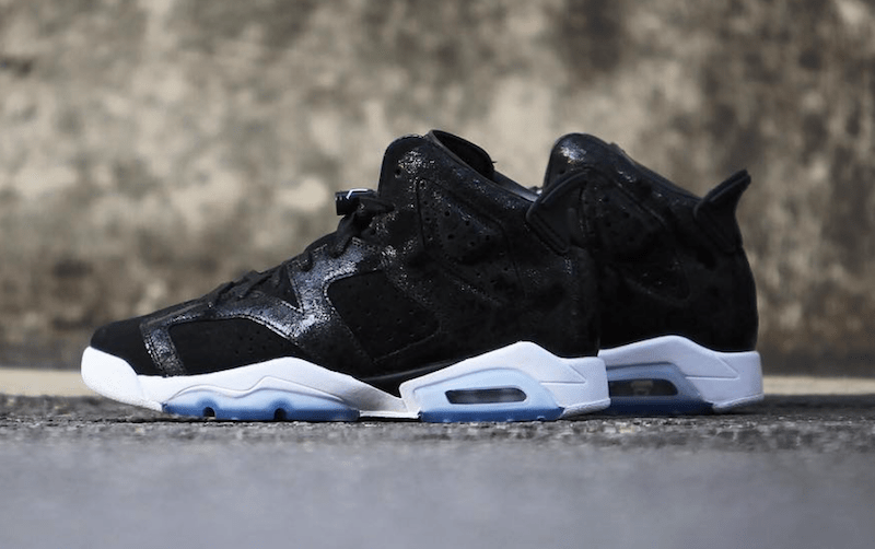 Air Jordan 6 GS heredera 881430-029 Negro Blanco