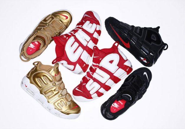 Supreme Nike Air More Uptempo Release Date