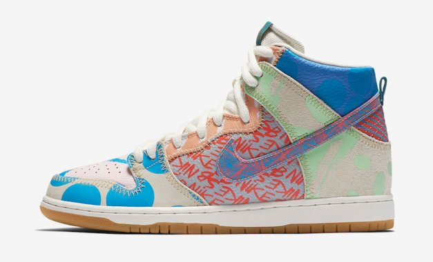 Nike SB What The Dunk High 918321-381