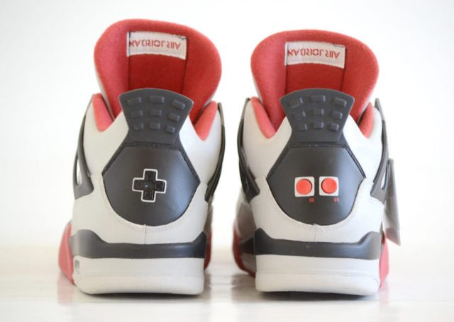 air jordan 4 nes mario bros custom 4 - Air Jordan 4 NES Customs Has Been Revealed