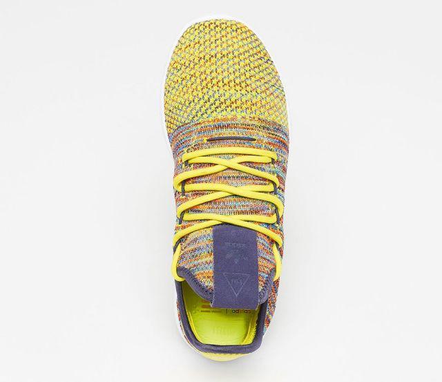 pharrell adidas tennis hu multcolor by2673 2 - Pharrell adidas Tennis Sneakers Drop Next Week In 3 New Colorways