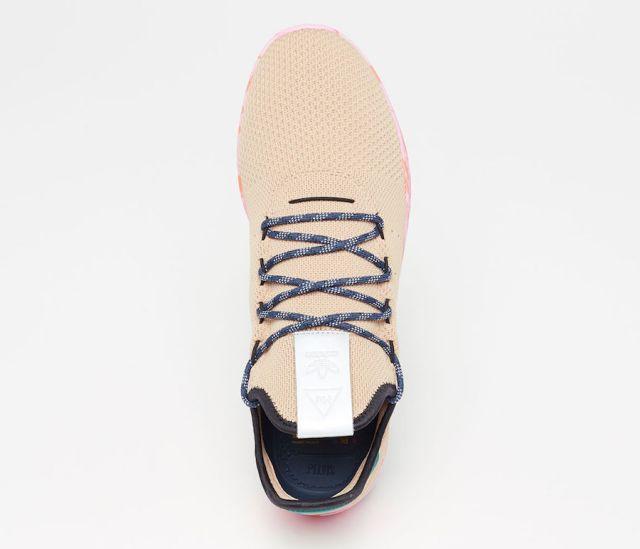 pharrell adidas tennis hu tan by2672 2 - Pharrell adidas Tennis Sneakers Drop Next Week In 3 New Colorways