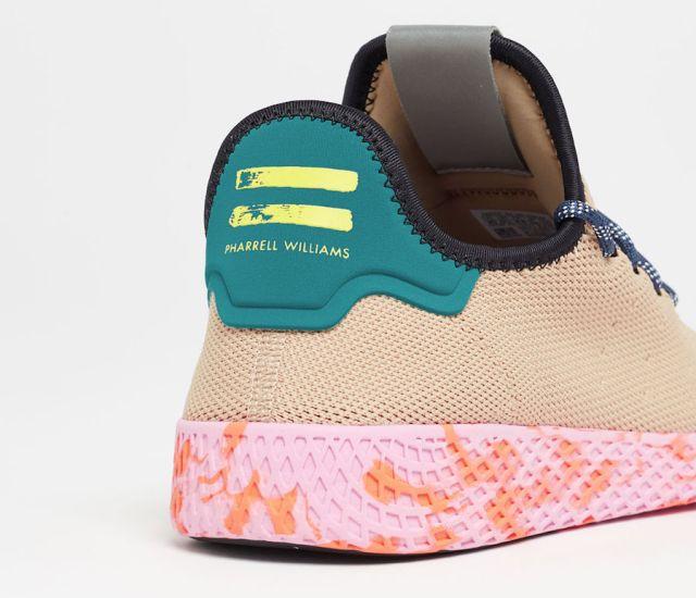 pharrell adidas tennis hu tan by2672 3 - Pharrell adidas Tennis Sneakers Drop Next Week In 3 New Colorways
